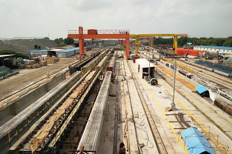 海外工程事业部-斯里兰卡预制梁板厂