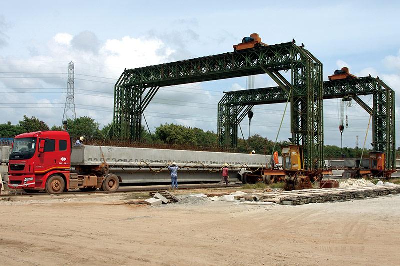 海外工程事业部-梁板生产运输