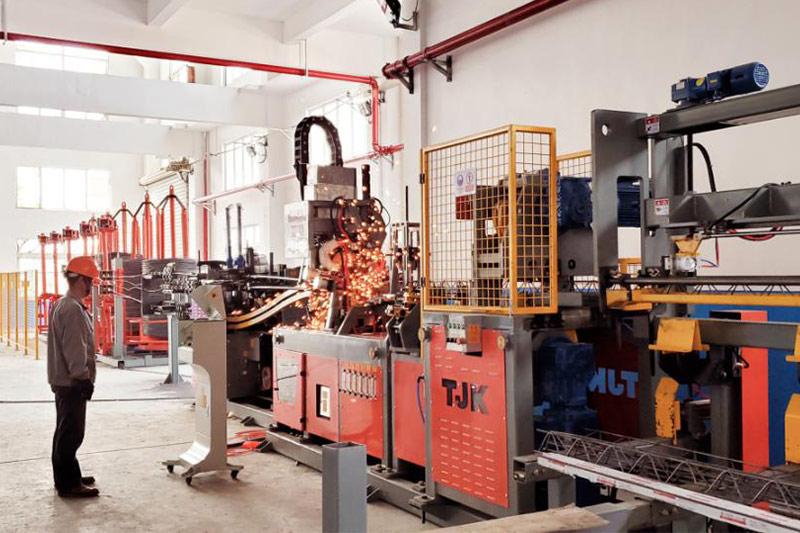 工程分公司钢筋集中加工中心-一号生产线