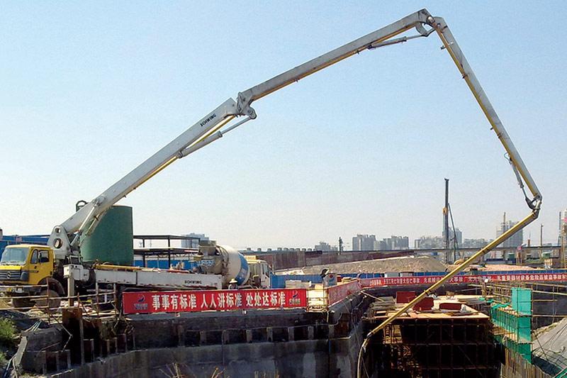 省建材贝博正网|贝博赞助西甲|贝博网址杭州火车东站混凝土供应现场